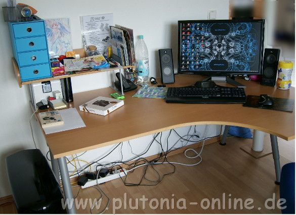 Fruehjahrsputz - Schreibtisch