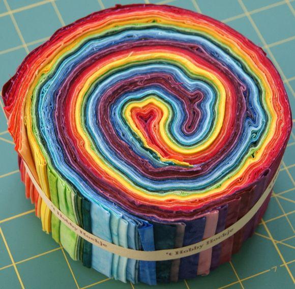 Jelly Roll in Regenbogenfarben