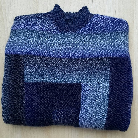Patchwork-Pullover 2