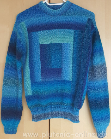 Patchwork-Pullover