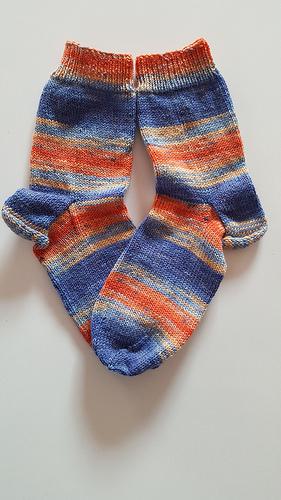 Scrappy-Socks Ausgangssocken 1