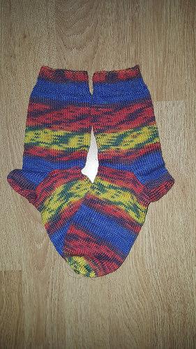 Scrappy-Socks Ausgangssocken 2