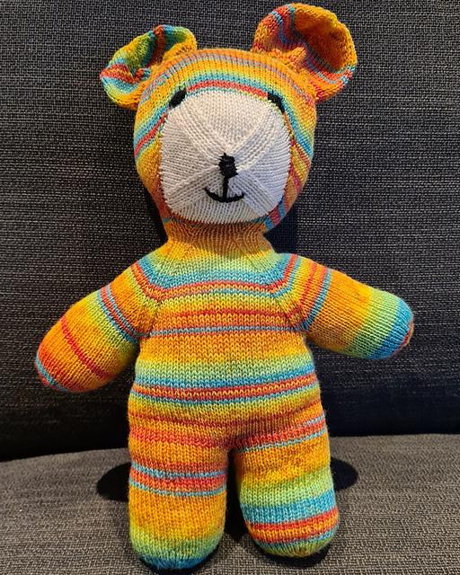 gestrickter Teddy